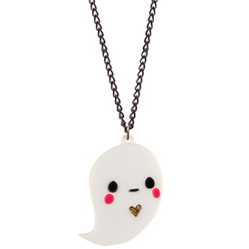 Doodllery Necklace - Boo The Ghost
