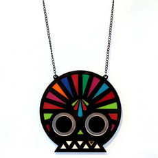 Skull Geo Necklace by Little Moose