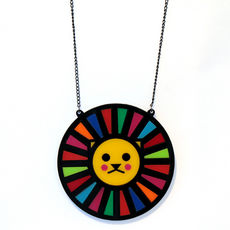 Lion Geo Necklace by Little Moose