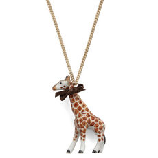Giraffe Necklace by And Mary