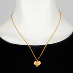 Bill Skinner gold elephant necklace