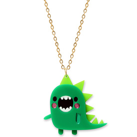 Doodllery Dinosaur Necklace
