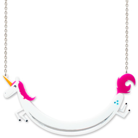 'Space Unicorn' Sausage Necklace