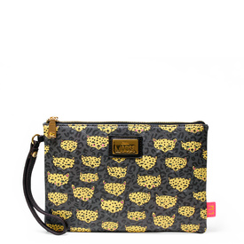 'Leopard' Clutch Bag