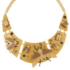 Insect Collar Necklace