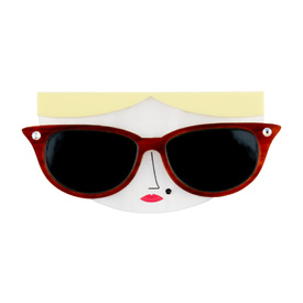 'Faces' Sunglasses Brooch