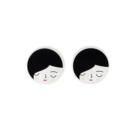 'Faces' Stud Earrings