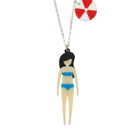 'Beach Life' Girl Necklace