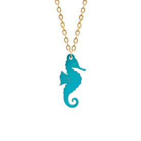 Seahorse Charm Necklace