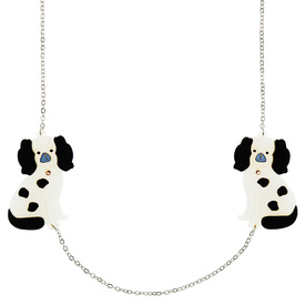 Staffordshire Dog Pair Necklace