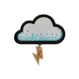 Pop Cloud Brooch