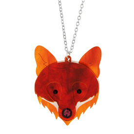 Fox Face Necklace