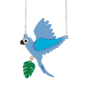 Flying Parrot Small Necklace