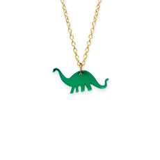 'Jurassica' Mini Apatosaurus Necklace