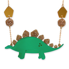 'Jurassica' Stegosaurus Necklace