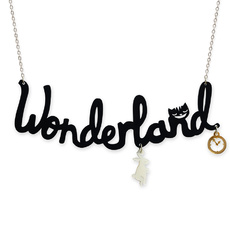 Wonderland 'Text' Necklace