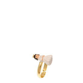 N2 Snow White adjustable ring
