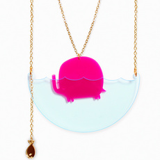 'Sea Creature' Elephant Necklace