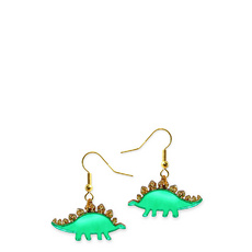 'Jurassica' Stegosaurus Earrings