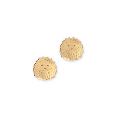 Hedgehog Stud Earrings