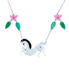 Woodland Horse Necklace