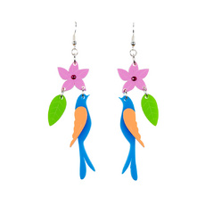 Woodland Bird Earrings