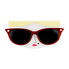 Sunglasses Girl Brooch