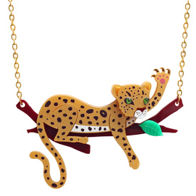 Leopard 'Branch' Necklace