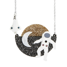 Astronaut Small Necklace