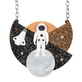 Astronaut Large Necklace