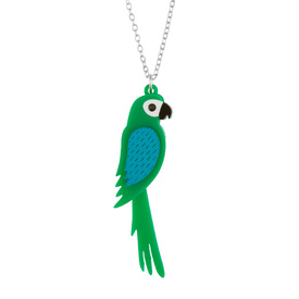 Parrot Pendant Necklace