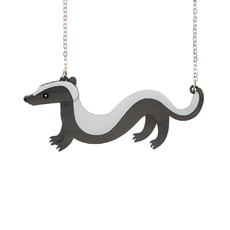'Sausage' Honey Badger Necklace