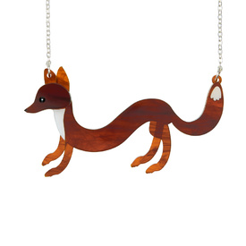 'Sausage' Fox Necklace