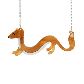 'Sausage' Weasel Necklace