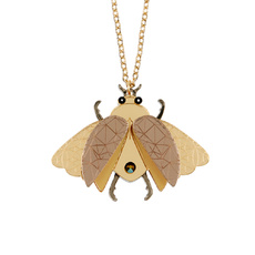 Insect Pendant Necklace
