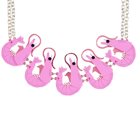 Prawn Collar Necklace