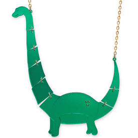 'Jurassica' Large Apatosaurus Necklace