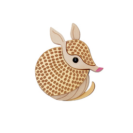 Armadillo Brooch