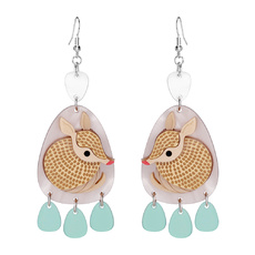 Armadillo Dangly Earrings