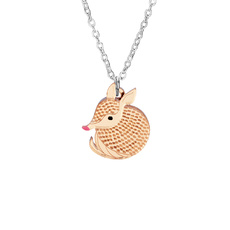 Armadillo Mini Necklace