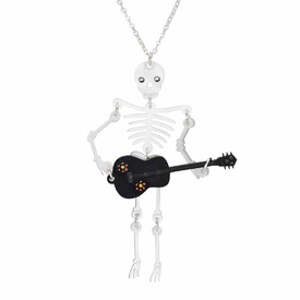 White Skeleton Necklace