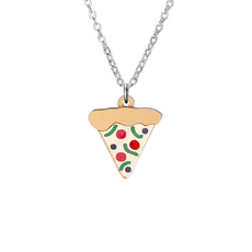 Pizza Charm Necklace