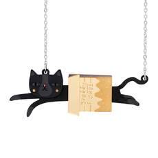 Cat In Box Necklace