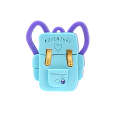 Backpack Brooch - Blue