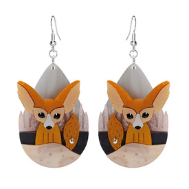 Fennec Fox Earrings