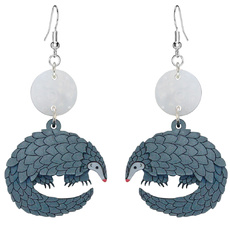 Pangolin Earrings