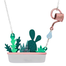 Houseplant Window Box Necklace