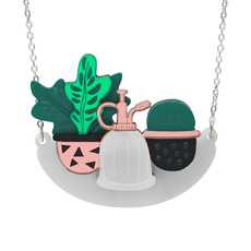 Houseplant Shelf Necklace