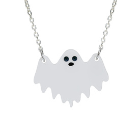 Ghost Charm Necklace